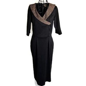 Lindy Bop Animal Print Retro 50's Look Dress